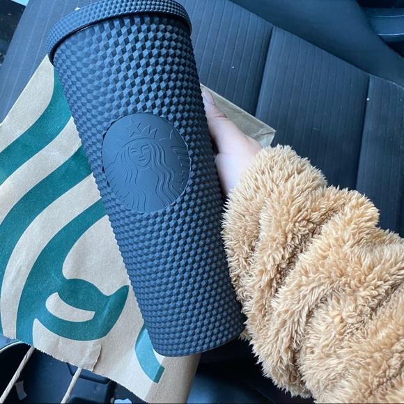 Starbucks Matte Black Studded Tumbler 2021